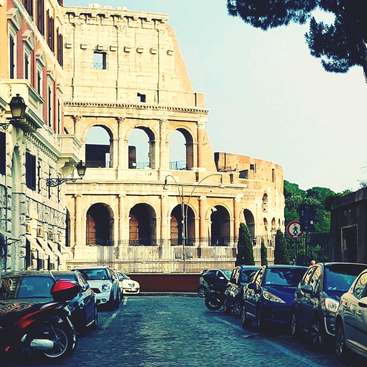 Architecture History Built Structure Ancient Rome Italy Colloseum Tourism Architecture