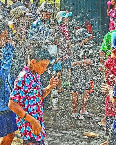 Happy New Year in Thailand or Songkran Festival สุขสดชื่นวันสงกรานต์ Songkran SongkranFestival Thainewyear Amazingday Amazingthailand Thailandismagic Thaiculture Thaistagram Thailand_allshots One__shot__ Editoftheday Picoftheday Tv_hdr Hdr_shots Shots_hdr Traveldestination Travel EyeEm Best Shots EyeEm Gallery Eyeemphotography Eyeemthailand Spotted In Thailand Travel Photography Streetphotography Lifeisbeautiful