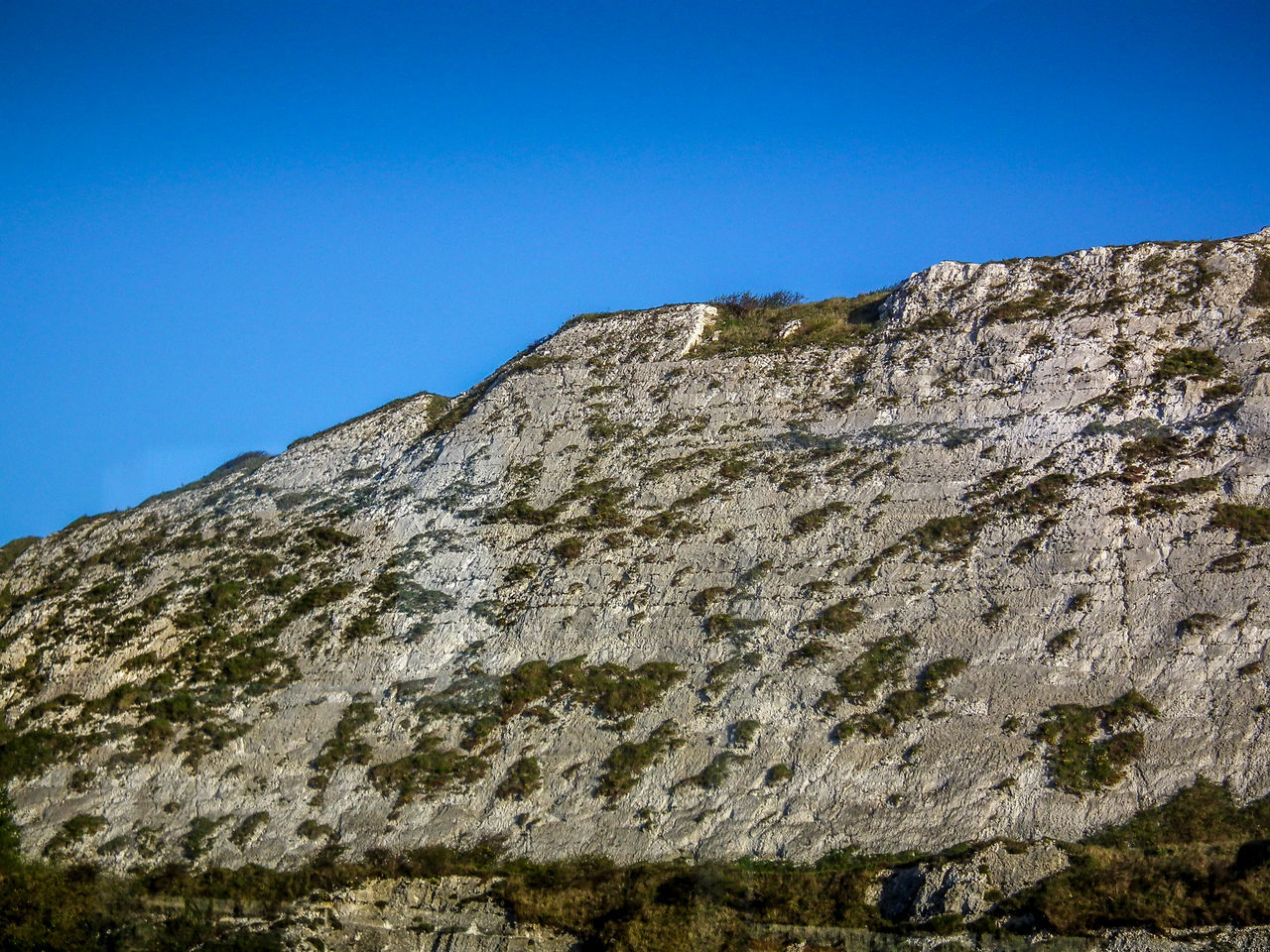 Beauty In Nature Berg Blue Clear Sky Day Dover England Inghilterra Low Angle View Montagna Mountain Mountains Nature No People Outdoors Scenics Sky