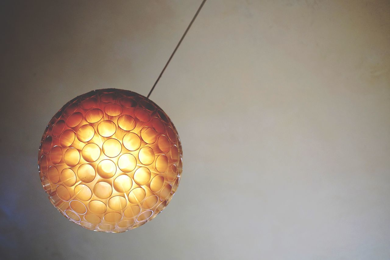 Light Abstract Negative Space Lamp Pattern Repetition