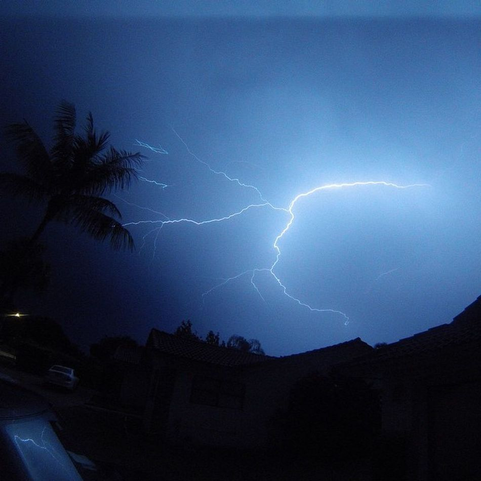Nofilter on this pic captured on my Gopro during last nights Lighting Storm Davidjoyphotography Sofla Theweatherchannel
