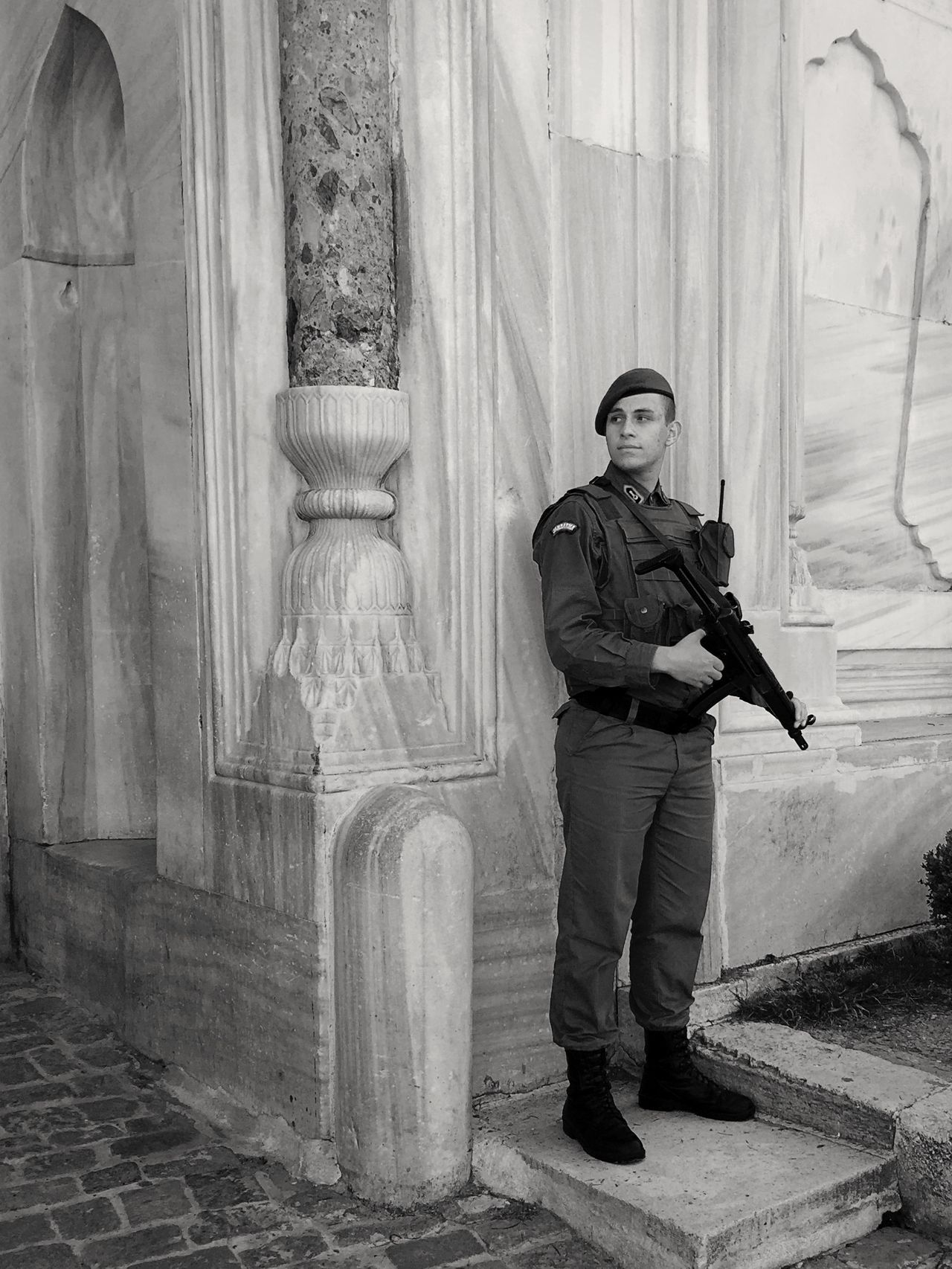 299 / 366 Architecture Guardian Jacket Military Topkapi Topkapi Palace Tourism Uniform Blackandwhite Black & White