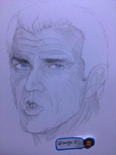 Drawing ArtWork Hello World Art, Drawing, Creativity MyDrawing Mel Gibson メルギブソン