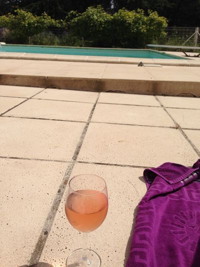 Piscine Rosé Swimming Pool Vine