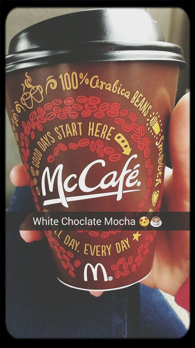 White Choclate Mocha ☕