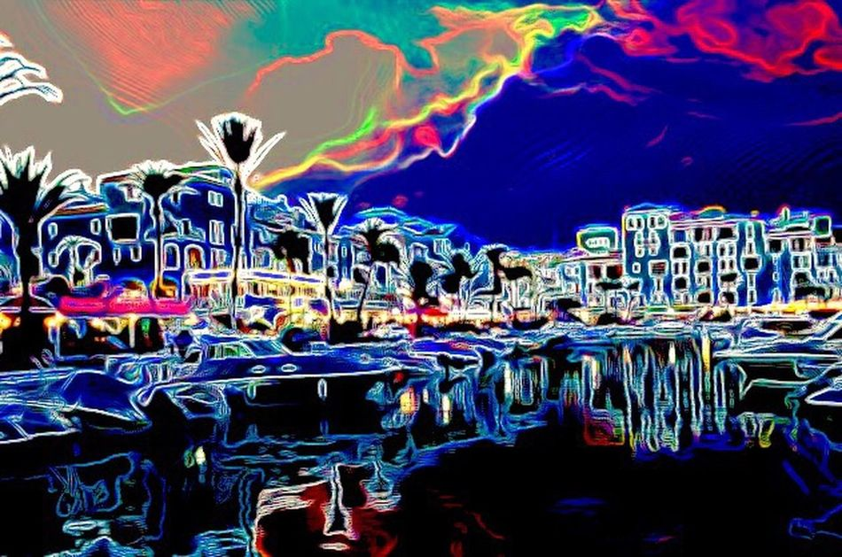 Abstract Art Abstract Photography Duquesa SPAIN Marina Colours Cities At Night The Innovator