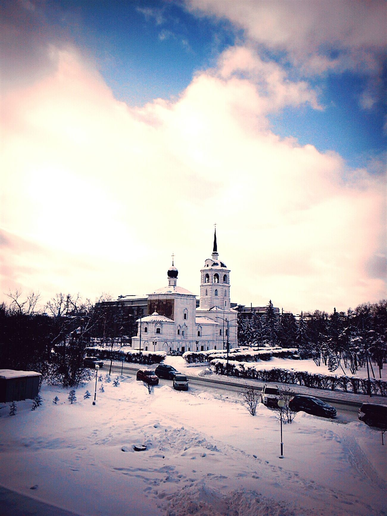 храм First Eyeem Photo Jurney Baikal Dream Building НГТУ Nsk Enjoying Life 像童话,我会不会是天使呀😄