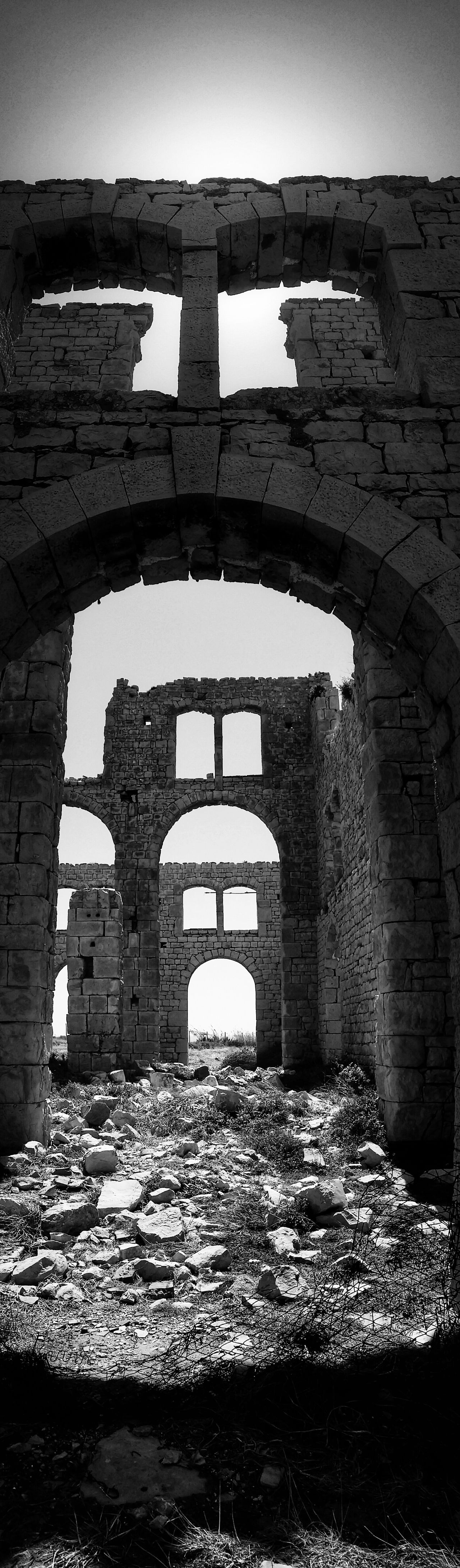Sampieri Ragusa Sicily Italy Travel Photography Travel Voyage Traveling Mobile Photography Fine Art Backlight Panoramic Views Black & WhiteArchitecture Early XX Century's Industrial Facilities Furnaces Ruins Mobile Editing The Great Outdoors With Adobe The Architect - 2016 EyeEm Awards