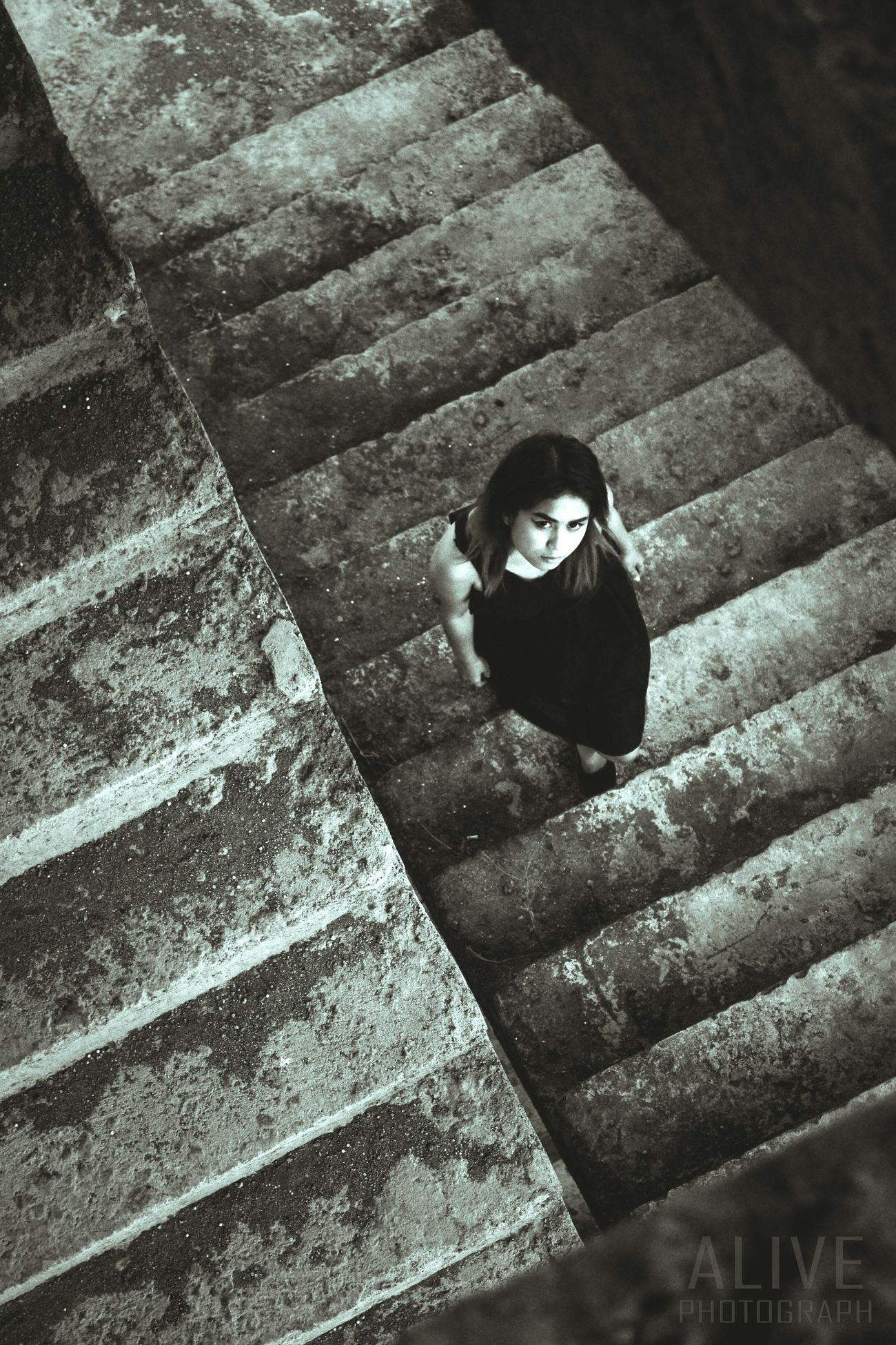 Shades Of Grey she will comes to you Stairs Girls