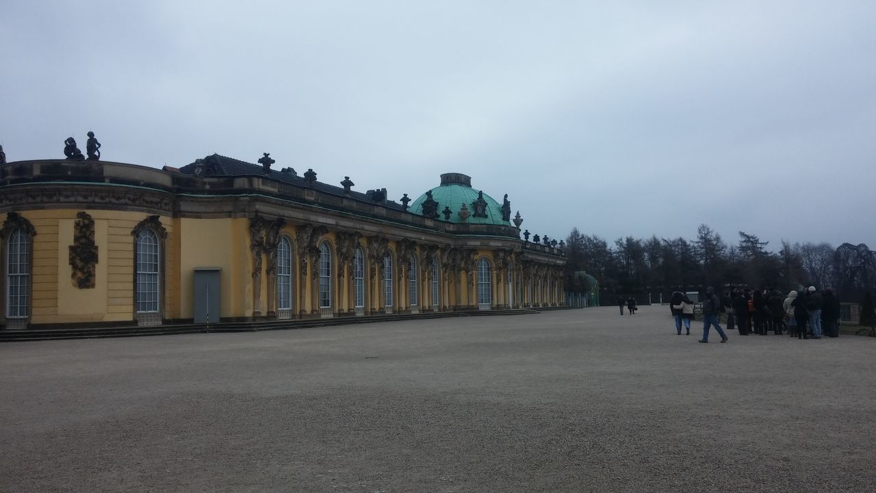 Seeing great things Architecture Beautiful City Cloudy Cold Temperature Day Deutschland Germany Guiding Happiness Historical Building Hug March No Sunshine Outdoors People Potsdam Sightseeing Sky Tourist Travel Travel Destinations Travel Photography Unique Winter
