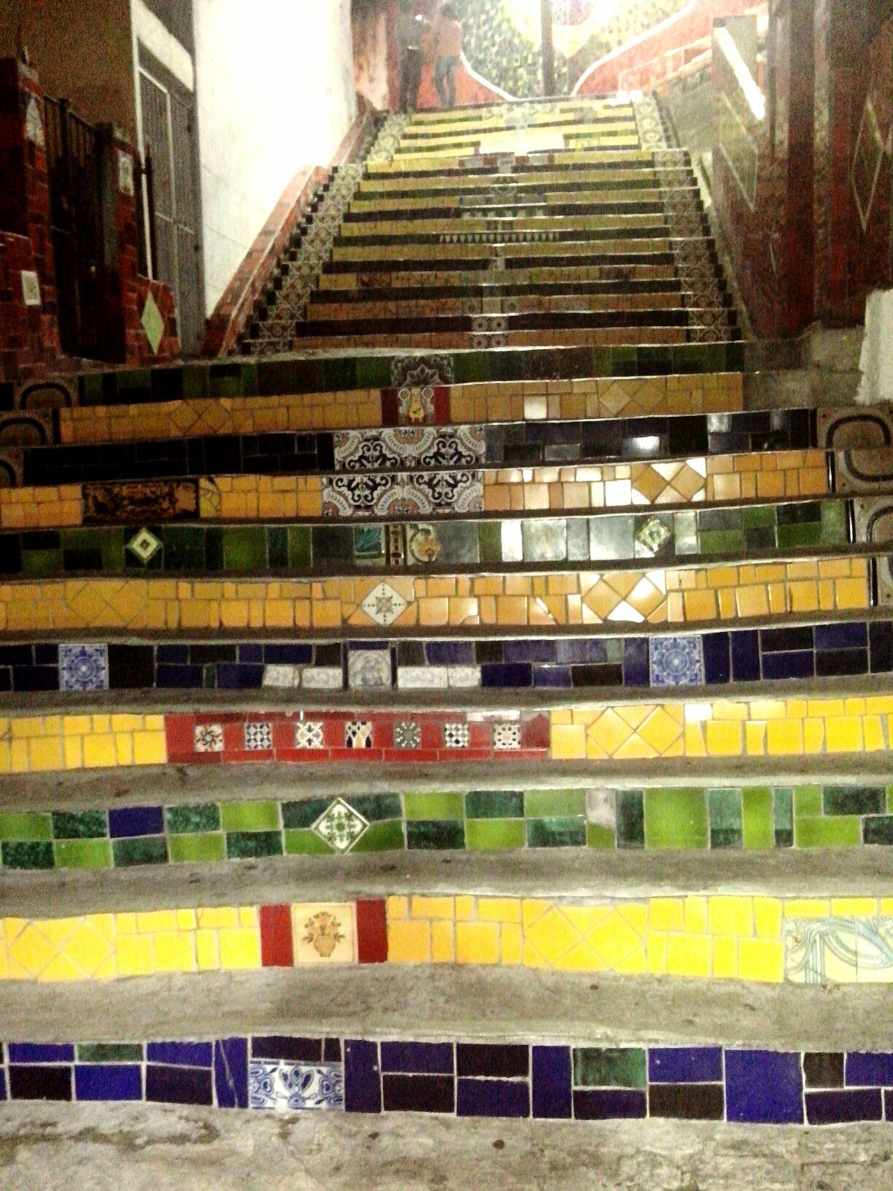 Art Escada Colorida Fantastic Exhibition Taking Photos Hello World Photography RJ 021 WOW