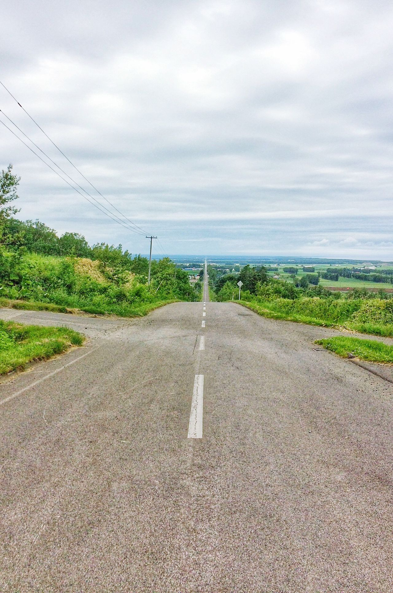天へ続く道 Okhotsk Hokkaido Countryside Road