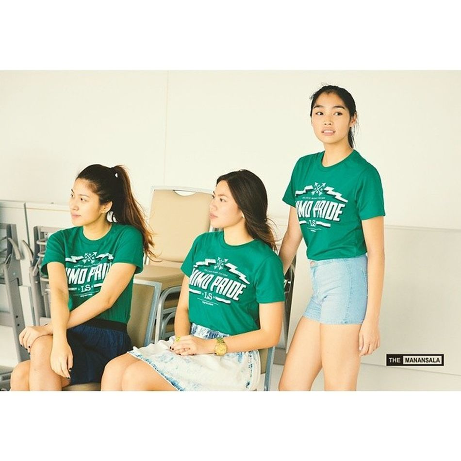 Behind-the-scene: shoot for @greenbloodedts with @jeaninebeatrice @inaongsiako @billiecapis ? . . . DLSU BTS Lasalle Greenbloodedts themanansala