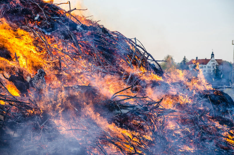 Outdoors Fire Heat - Temperature Power In Nature Hexenfeuer Light Hot