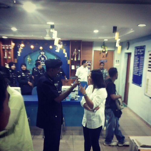 Cover Program Jom Sahur utk FB Polis KL