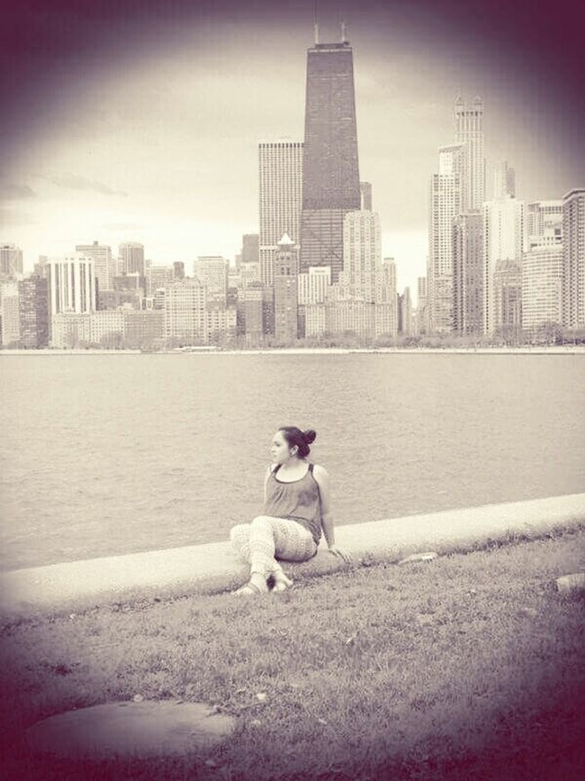 Navy Pier Pregnant Relaxing Oldtimes💁🏻💖 My Baby Girl <3