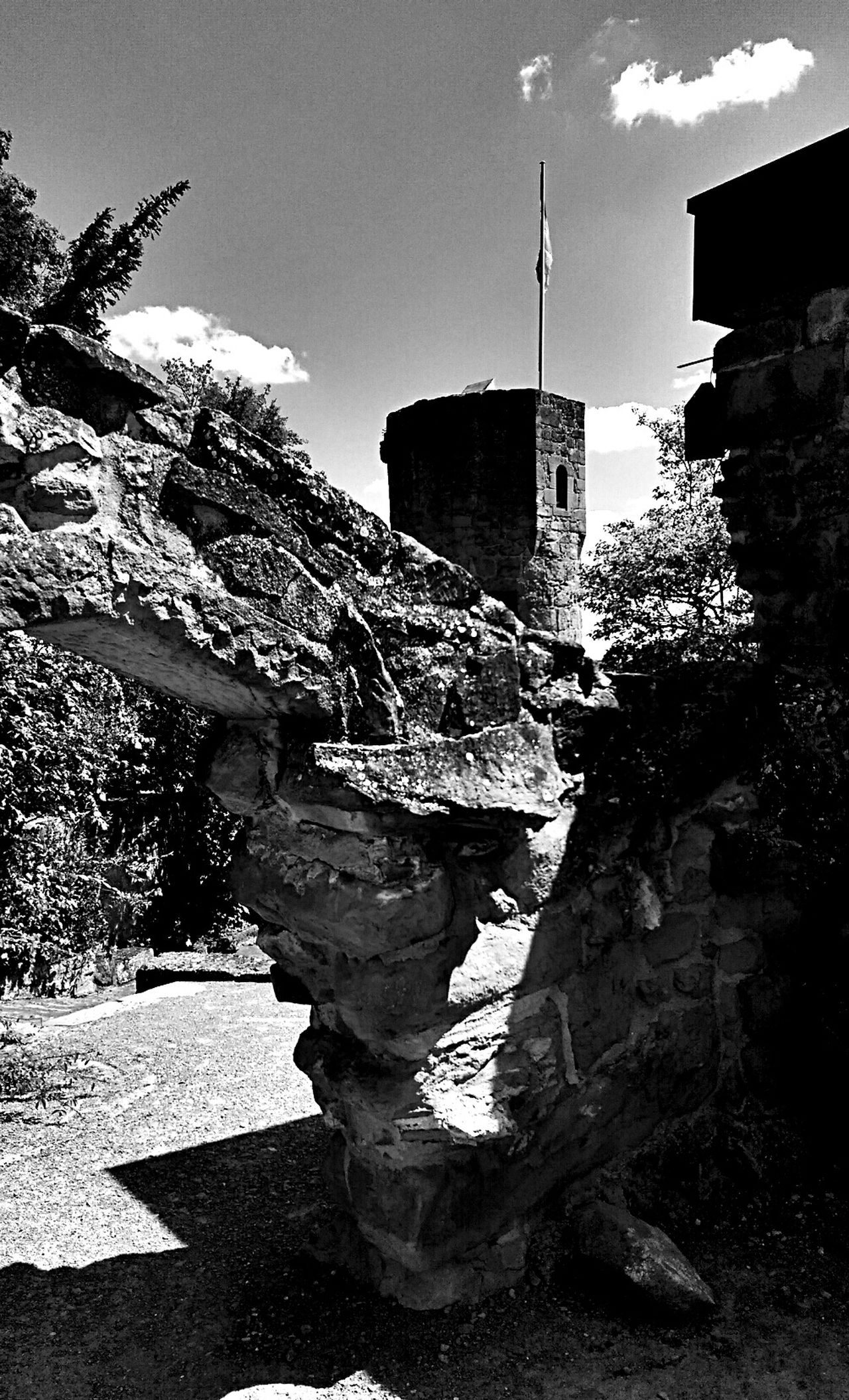 Fantastic Exhibition Historical Building Ruins Blackandwhite Black And White Traveling
