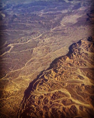 From An Airplane Window Egypt