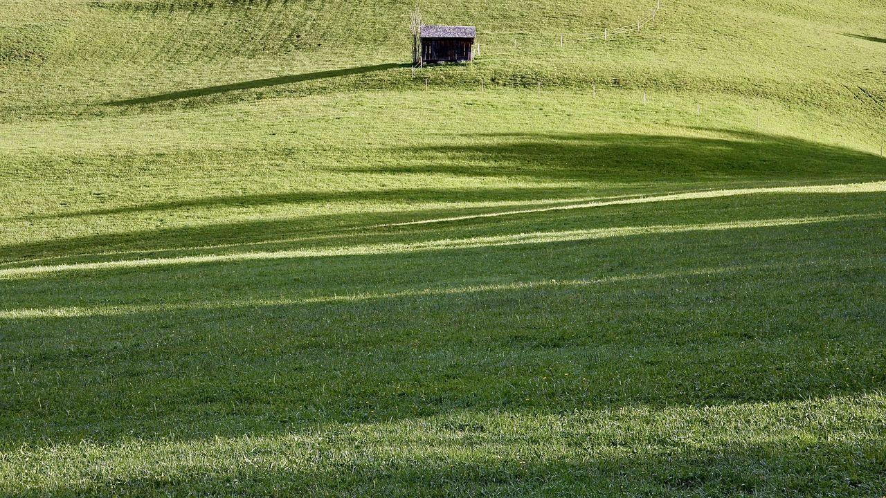 light and shadow on green field, alps Agriculture Alps Architecture Backgrounds Color Colors Field Grass Green Color Greenery Holiday Light Nature Outdoors Shadow Simplicity Sunlight Tannheimer Tal The Great Outdoors - 2017 EyeEm Awards Tirol  Travel