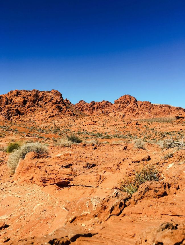 Rock Mountain Outdoor USA Photos USA Blue Sky Beauty In Nature Scenic View Arid Outdoors Nature Landscape Landscapes Scenic Red Rocks  Contemplating Tranquil Scene Meditation Rocks Arid Climate The West Fine Art Photography