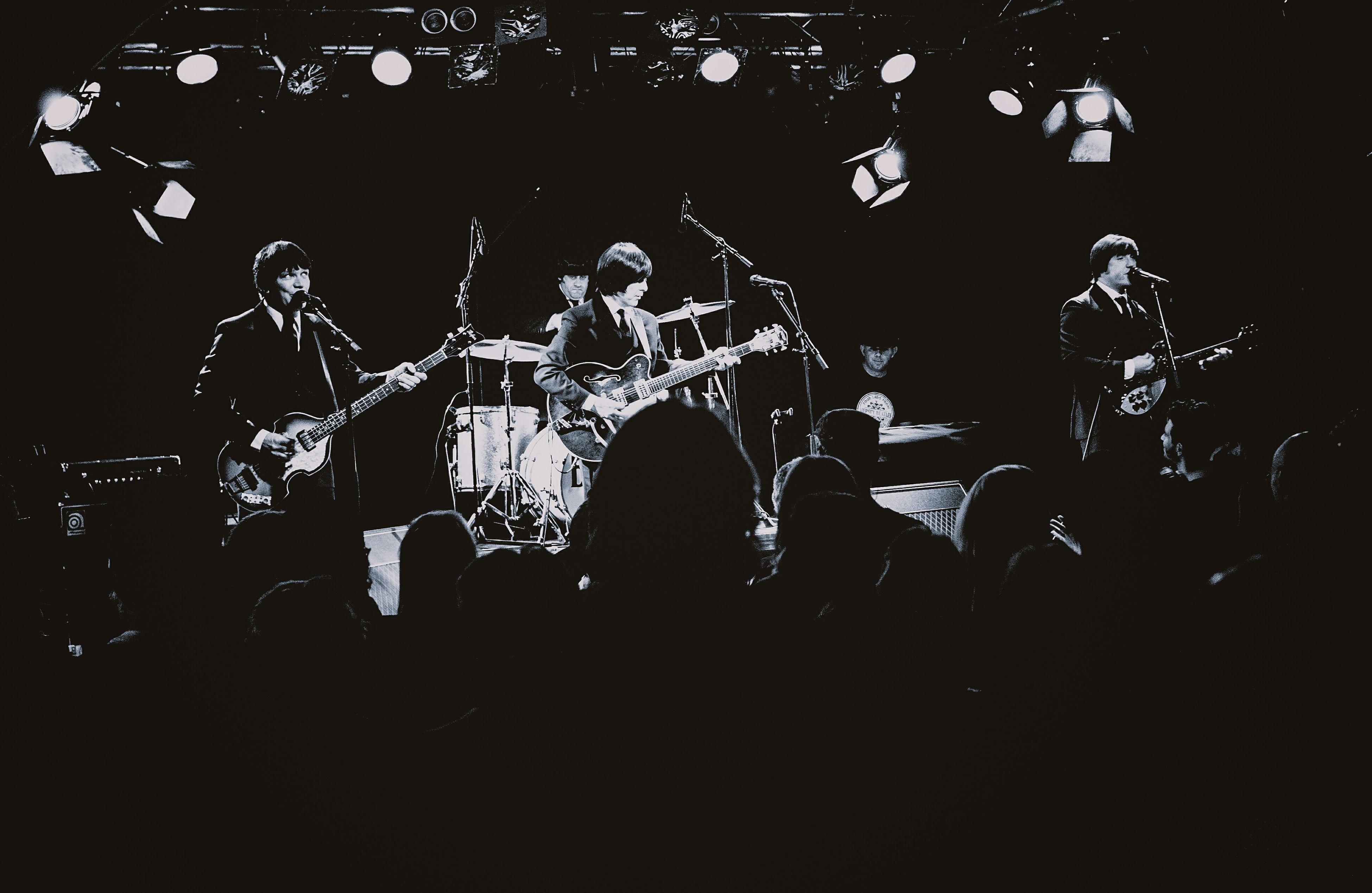 The Mersey Beatles, Katalin, May 15, 2015 Blackandwhite Concert The Beatles Music 1966