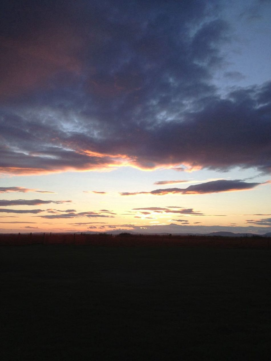sunset solway firth Sky Sunset