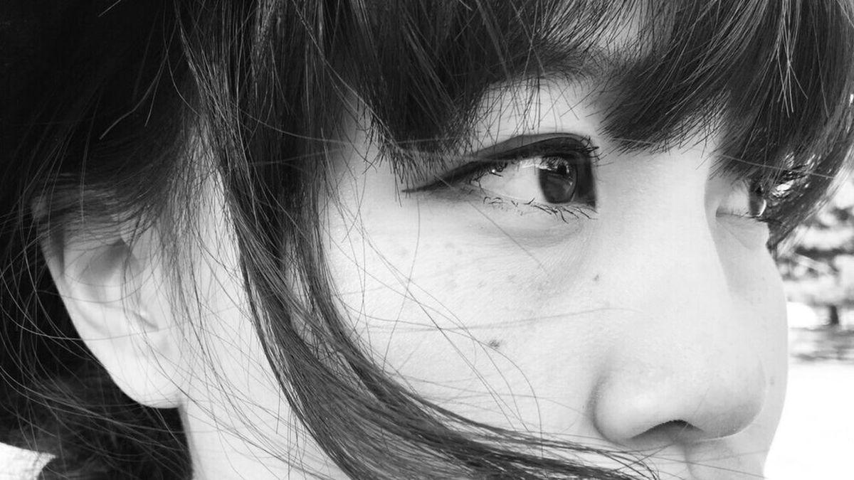 B&W Portrait Eye Soul Love