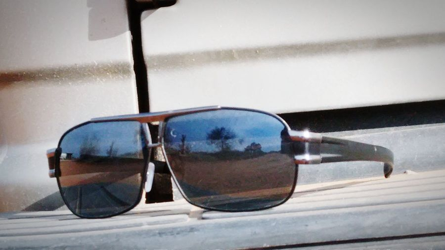 Ready to hit the road. Sunshining Sunglasses Ranch Life Exploring Trees And Sky Eye4photography