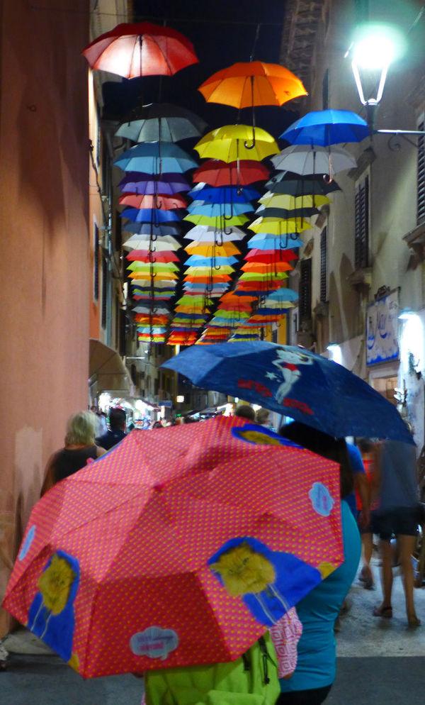 City City Evening Architecture City Rain Illuminated Night Outdoors People Real People Shelter Umbrellas Under Walking