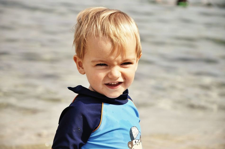 Beautiful stock photos of smile, Beach, Blond Hair, Boys, Casual Clothing