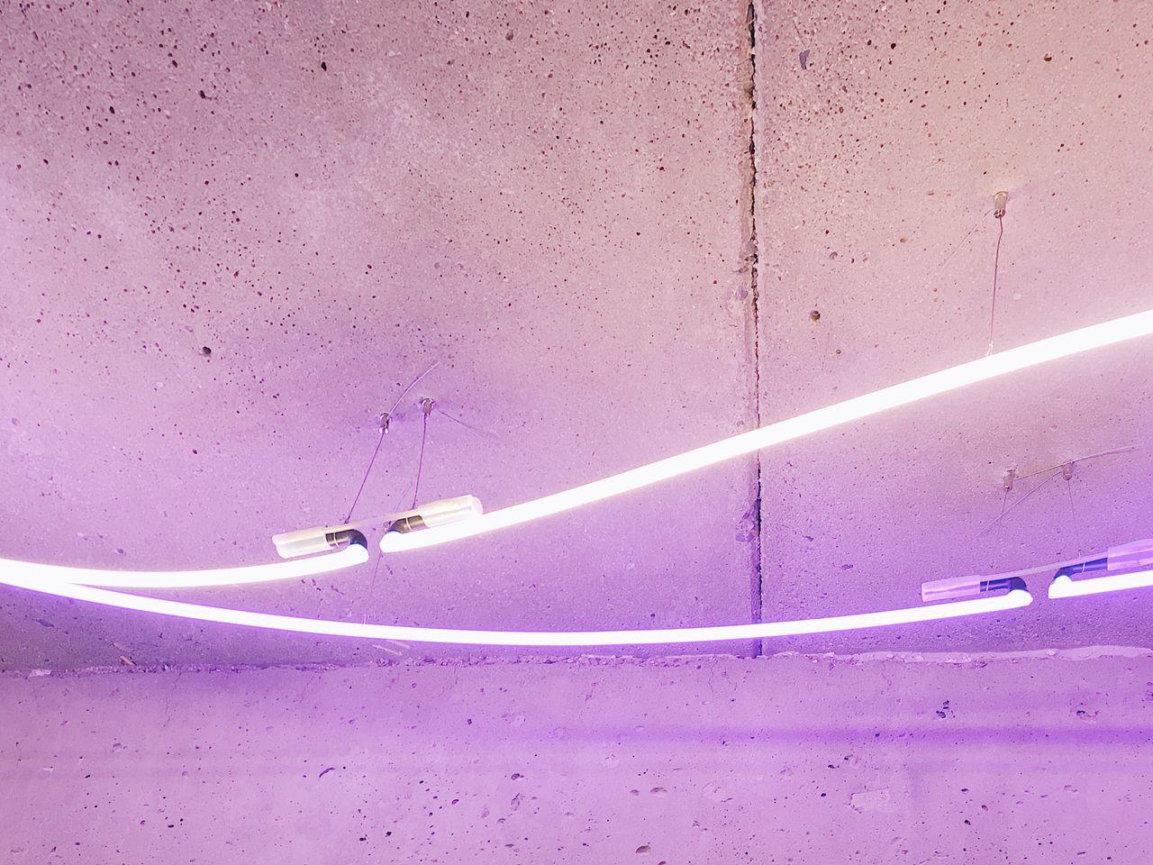 Light Installation Pink Berlin