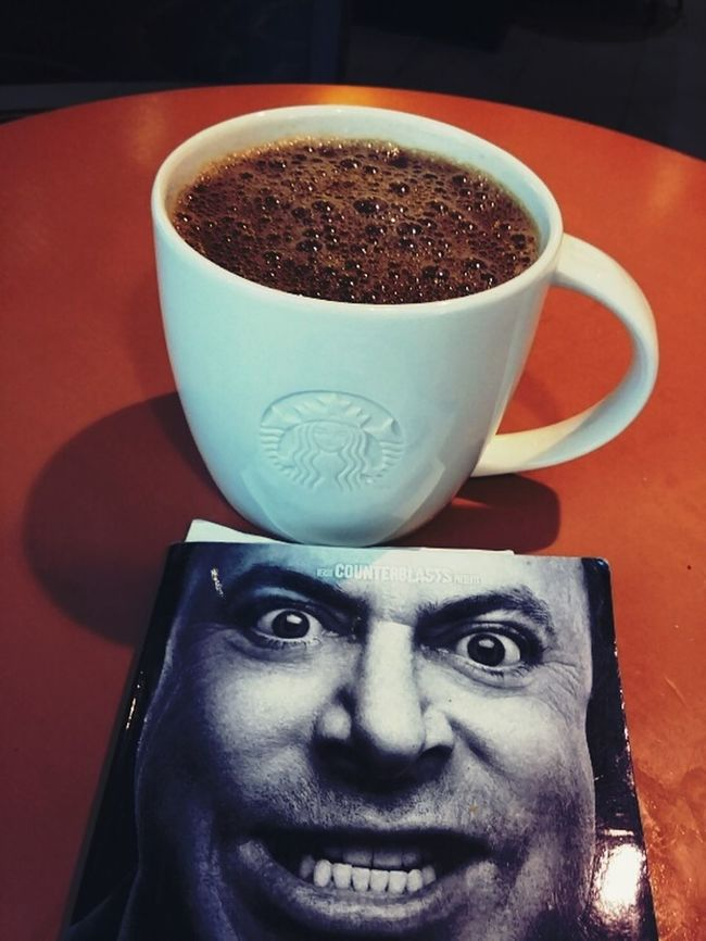 Indoors  Drink Headshot Close-up Food And Drink Coffee Cup Refreshment Focus On Foreground Hitchens