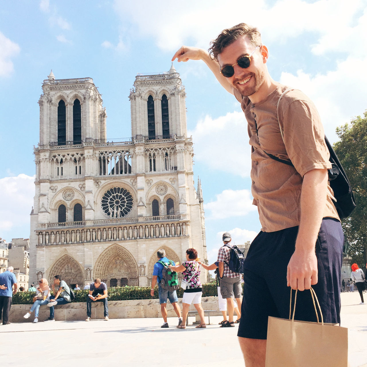 Beautiful stock photos of notre dame,  25-29 Years,  Adult,  Architecture,  Building Exterior