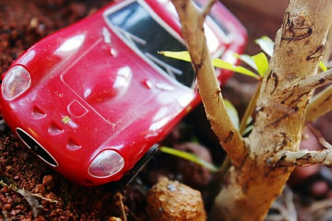 MobiL kepatoL :p Belajarmotret BelajarMacro Belajarphotography Macrolens Macro Art Red Abandoned Close-up Damaged Weathered Obsolete Day Outdoors Red Color No People Man Made Object Tranquility
