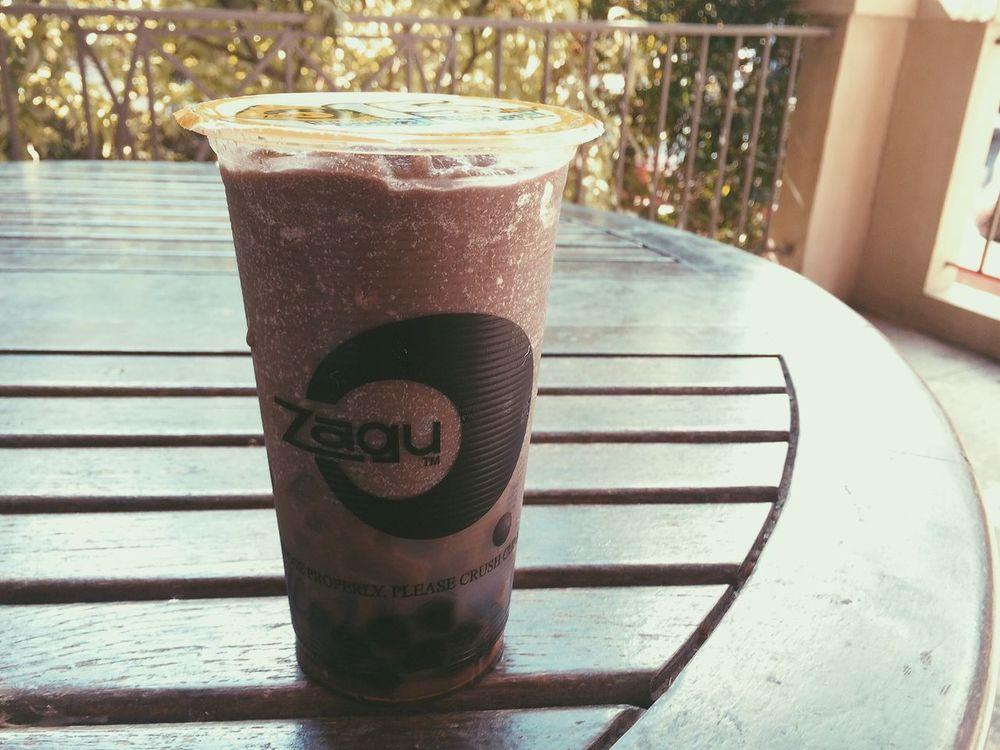 I have Zagu ( ^ω^ ) Chocolate Zagu Drink