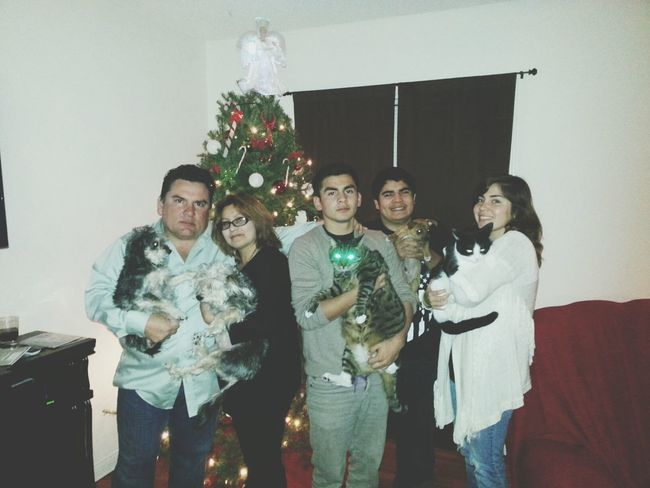 family with pets !