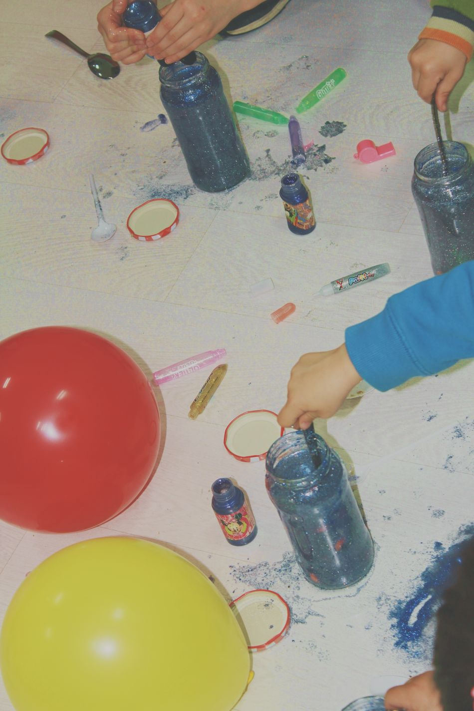 Aerosol Can Art And Craft Artist Bottle Boys Can Child Childhood Children Only Creativity Food High Angle View Art Is Everywhere Human Body Part Human Hand Indoors  Multi Colored One Person Paint Paint Can Paintbrush Palette Paper Real People Table