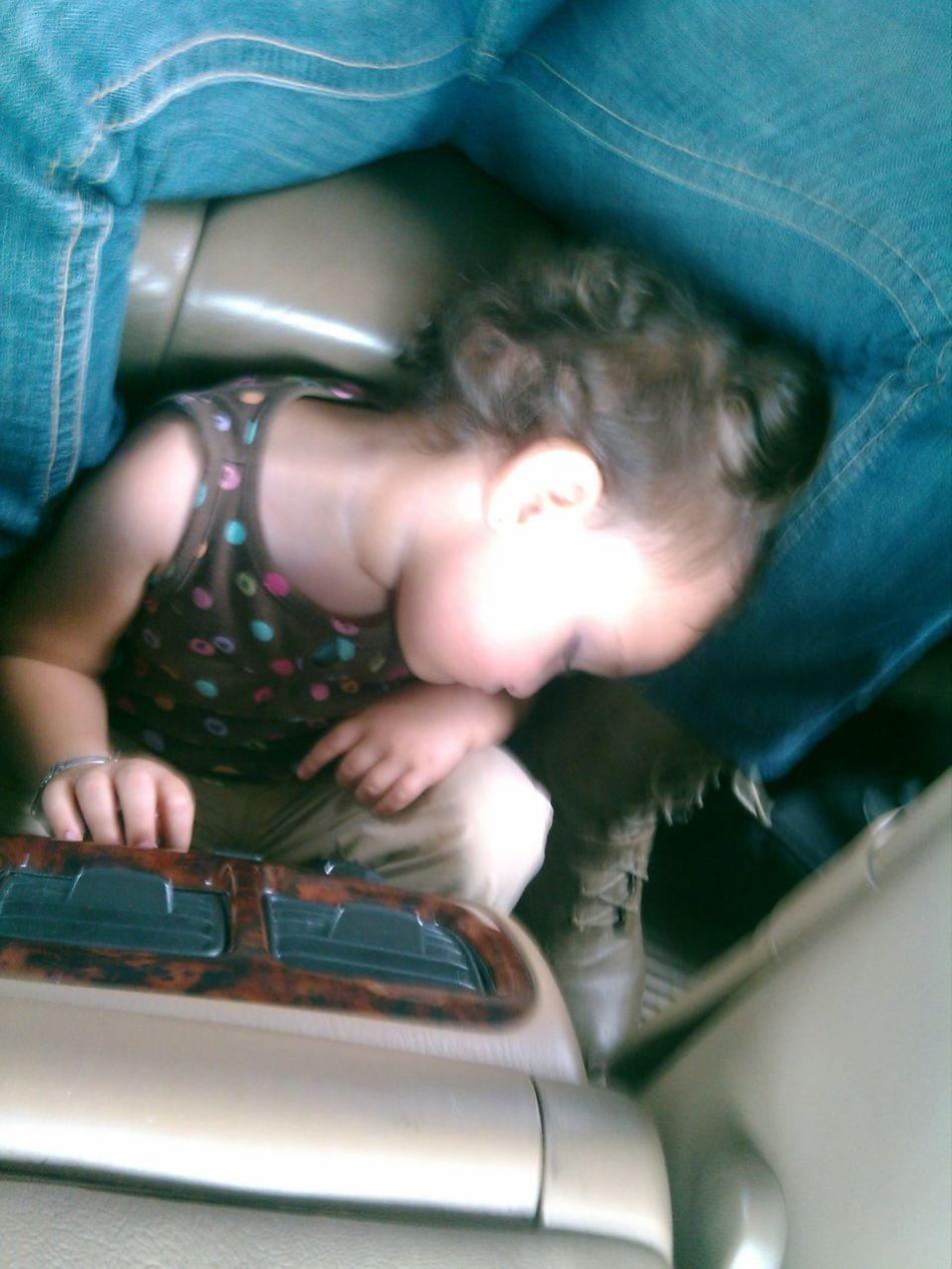 Se canso la pequeña Kaime