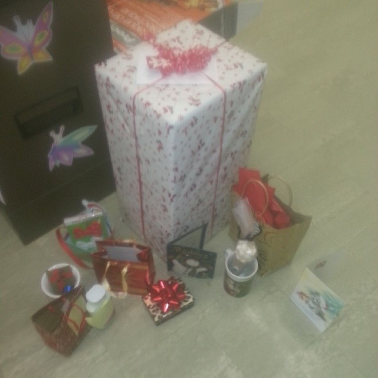 I Love My students all my gifts and its not Christmas Yet.. BESTTEACHER