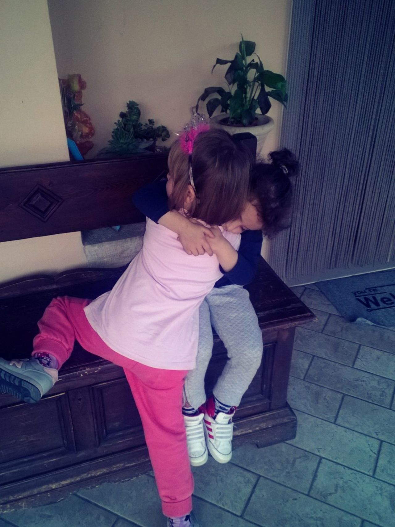 Cousins ❤ Girls MyGIRL Myladies Playing Hugs LoveChildren Love♥ Enjoying Life Thesetwo are Crazy Alwyas TogetherInseparable Neveralone What I Value That's Magic Makemehappy LoveThem  Joy
