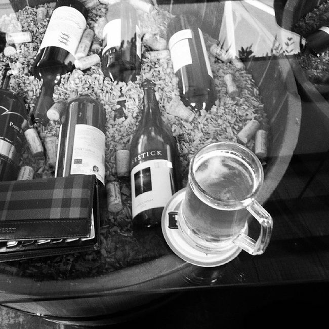 After studio. Treat Friends Funtime Drink wine bw random