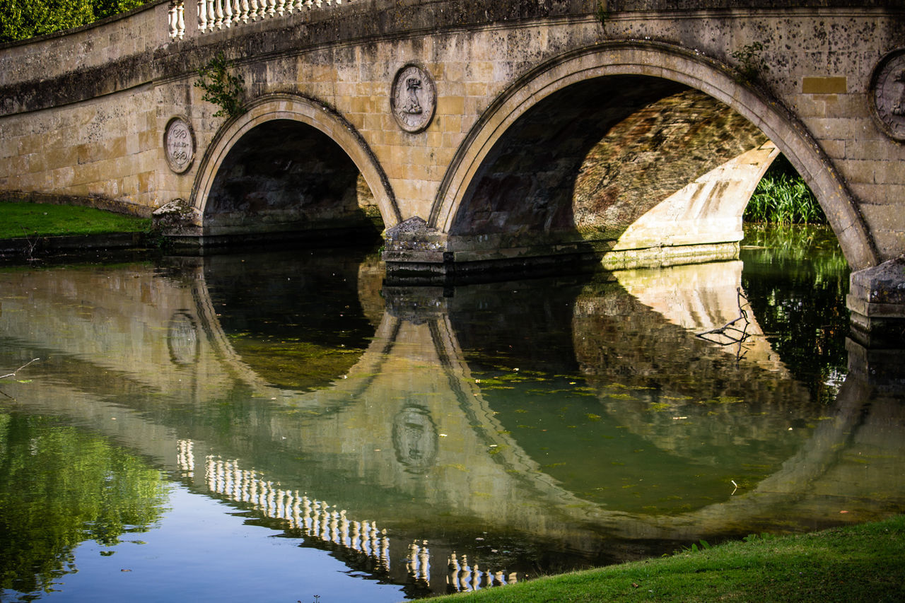 Reflection Arch Water River Day Architecture Outdoors No People Water Reflections Architecture Built Structure Audley End Water Surface Bridge Bridge - Man Made Structure EyeEmNewHere The Architect - 2017 EyeEm Awards The Great Outdoors - 2017 EyeEm Awards