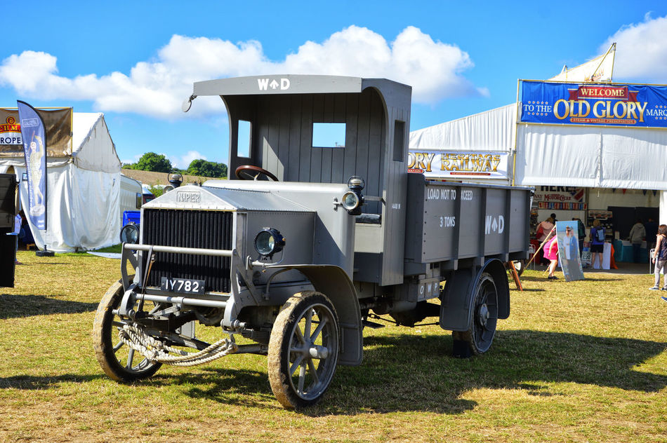 Grey Lorry Military Old Transport Transportation Truck Vintage Ww1