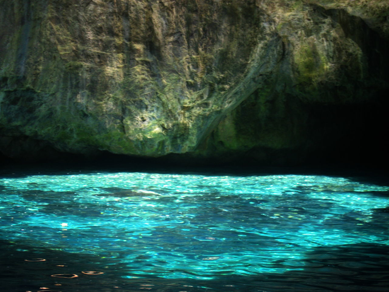 Beauty In Nature Marettimo Island Marine Cave Reflection Rock Rock Formation Sea Sicily, Italy Sunlight And Shadow Water