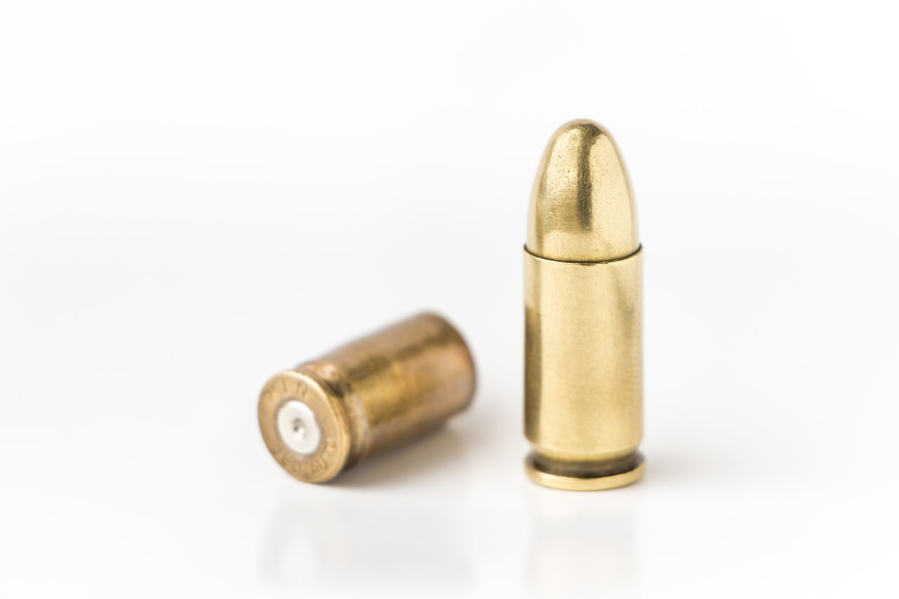 Beautiful stock photos of white background, Arequipa, Bullet, Cartridge, Close-Up