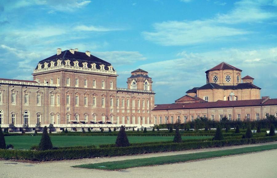 Architecture Building Exterior Built Structure Castle City Cloud - Sky Day Dome Façade Garden History No People Outdoors Palace Royal House Restaurant Sky Torino, Italy Travel Destinations Venaria Reale EyeEmNewHere Neighborhood Map Your Ticket To Europe