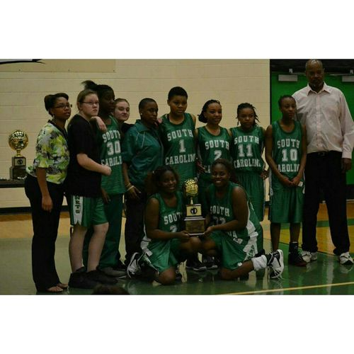 2012-2013 2nd place and basketball, Fla vs SC. South Carolina School for the Deaf