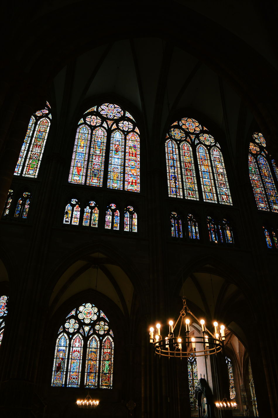 Arch Architecture Built Structure Cathedral Church Day Indoors  Low Angle View No People Place Of Worship Religion Stained Stained Glass Stained Glass Stained Glass Window Travel Destinations Window Windows Art Is Everywhere
