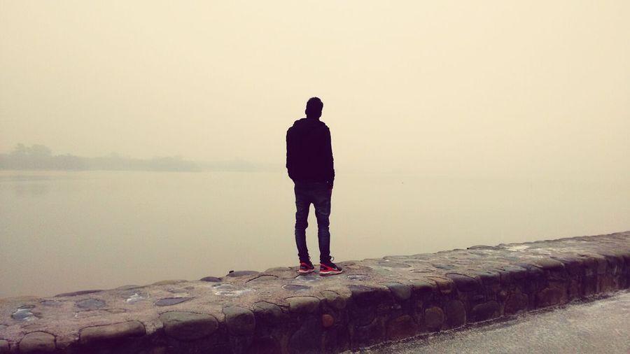 Morning at sukhna lake...chandigarh First Eyeem Photo