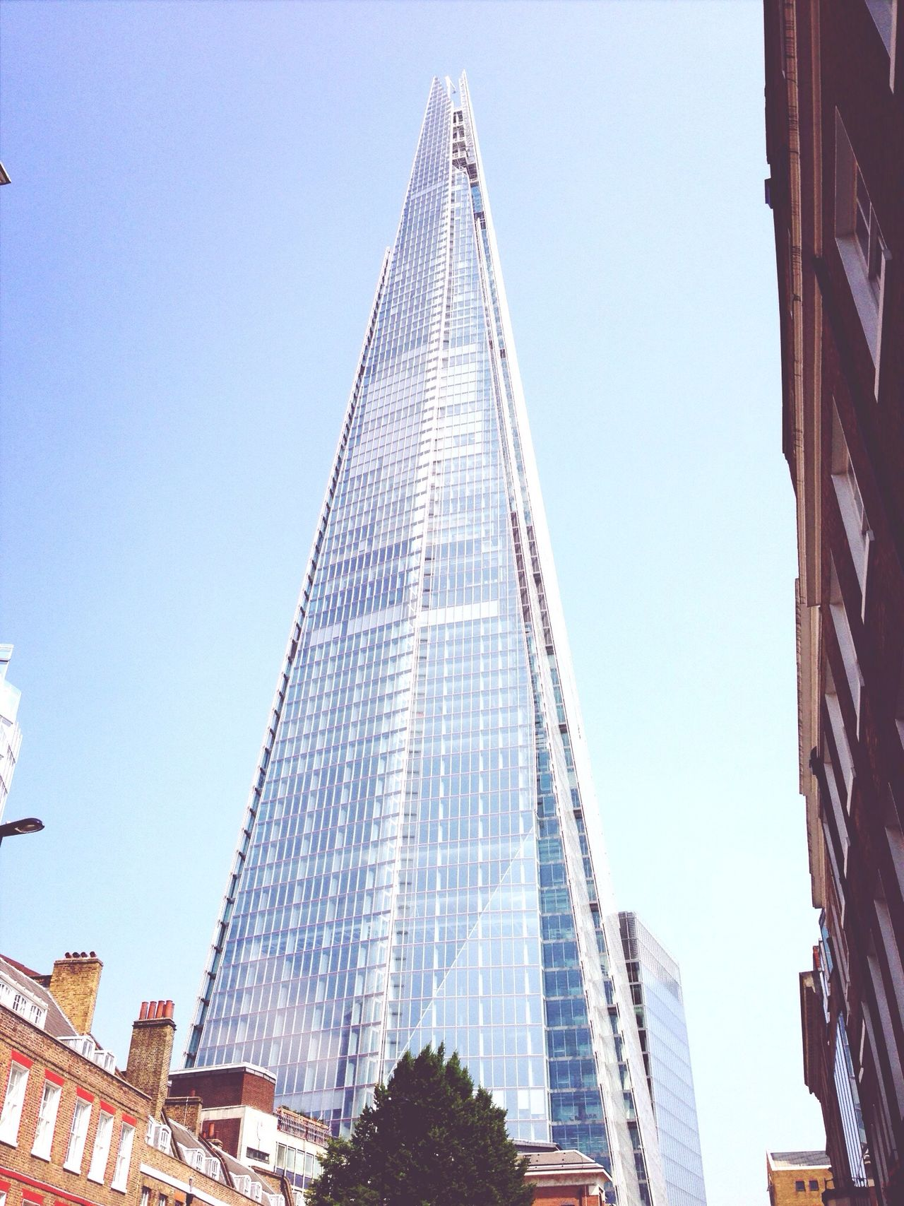 The Shard - close and personal Look Up And Thrive